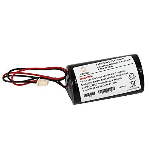 batteria della sirena Visonic MCS-710 et 730 ER34615M 0-9912-K