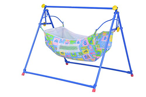 Mothertouch Indo Cradle (Blue/Yellow)