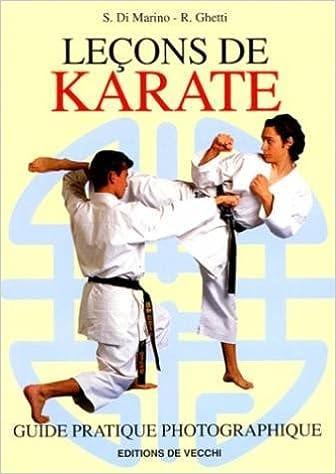 Livres Leçons de karaté : Guide pratique photographique pdf epub