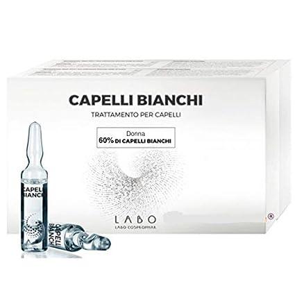 Labo Capelli Bianchi Trattamento Donna PRIMI Capelli Bianchi - 60 fiale 9f1ae97525b5