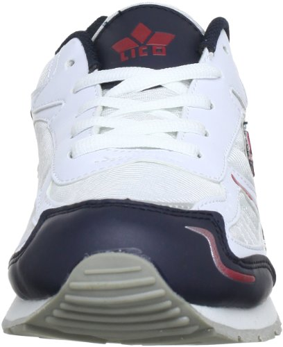 Lico Men's 110078 High Trainers (Weiss/Mar/Rot) 5cCum0ZH