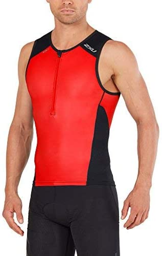 2XU Mens Perform Triathlon Singlet