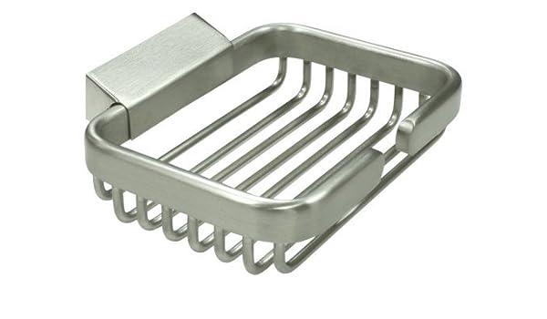 Deltana WBR4535U15 4 1//2-Inch Rectangular Soap Holder Wire Basket Top Notch Distributors Inc. Home Improvement