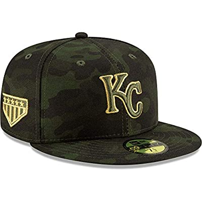 New Era MLB Kansas City Royals KS 59FIFTY Armed Forces Fitted Cap, Camo Hat