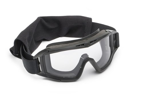 Revision Military Desert Locust Goggle Basic Clear 4-0309-0301 Desert Locust Goggle Basic Clear Black, Clear by Revision Military