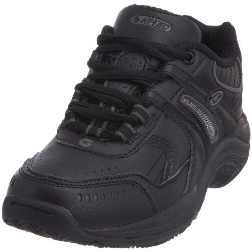 Hi-Tec Xt115 Jnr - Calzado de deporte de material sintético niño negro - negro/gris