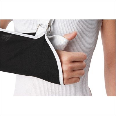 Premium Contact Closure Arm Sling Size: Medium, Style: Standard