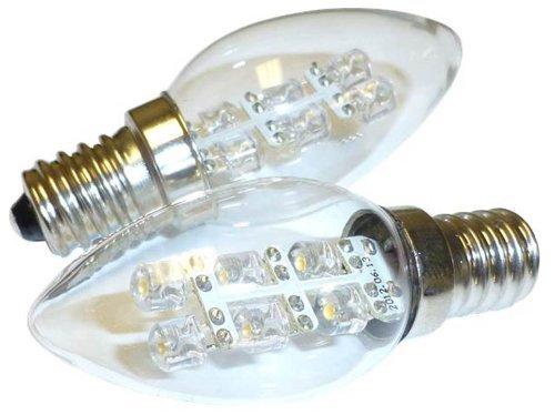 LED de 0,5 W 15 lm (5 W), C7 luz nocturna bombilla, 2900 K ...
