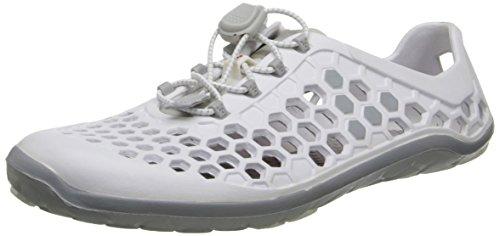 Vivobarefoot Damen Ultra II Wasserschuh Weiß grau