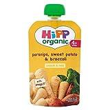 Hipp Organic Parsnips, Sweet Potato & Broccoli 4+ Months 100G - Pack of 2