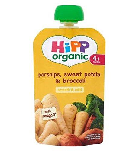 Hipp Organic Parsnips, Sweet Potato & Broccoli 4+ Months 100G