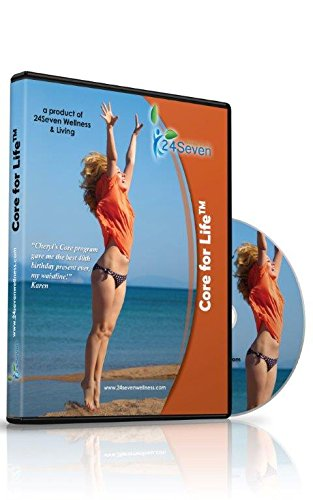 24Seven Wellness & Living The Ultimate Core and Lower Back Relief Program DVD Pilates Based Abdominal Exercises Developed to Provide Lower Back Pain Relief Through Strong and Powerful Abs.