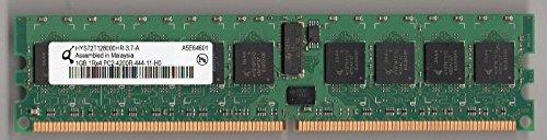 QIMONDA HYS72T128000HR-3.7-A PC2-4200R DDR2 533 1GB ECC REG 1RX4 (FOR SERVER ONLY) 1gb Ecc Reg Pc