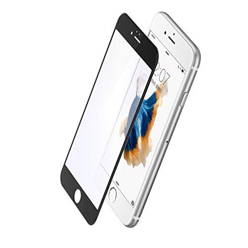 "BBEART Baseus 0.23mm PET Soft Anti-Blue light Frosted Arc Edge 3D Screen Tempered Glass Film For iPhone 6/6s/6 Plus/6s Plus (Black+Anti-blue light 4.7"")"
