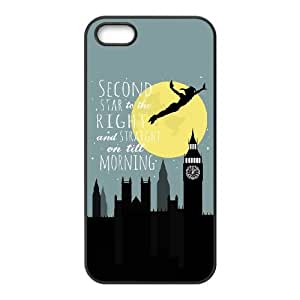 iPhone 4 4s Cell Phone Case Black Peter Pan ZWK Back Personalized Cell Phone Case