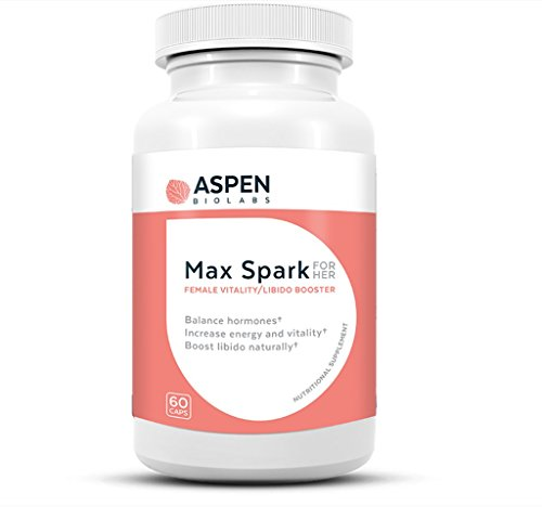 Aspen Bio Labs Spark For Her For Her Natural Female Enhancement Helps Balance Hormones  Increase Energy And Vitality  And Boost Libido Naturally
