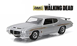 1971 Pontiac GTO Silver Episode 1.01 The Walking Dead TV Series (2010-2015) 1/64 by Greenlight 44730 E by Pontiac