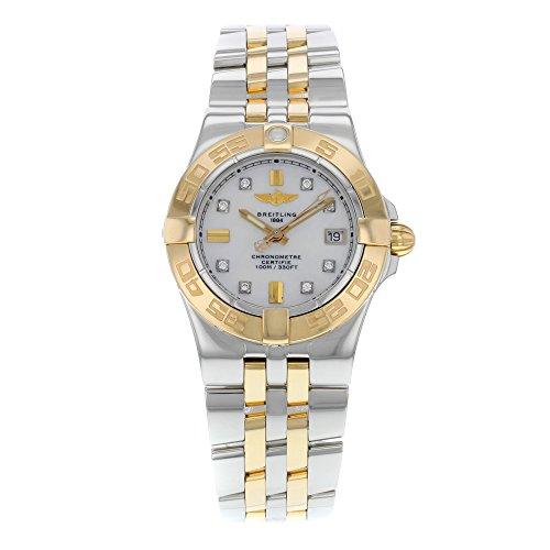 Breitling Women's C71340L2/A715TT Galactic 30 White Dial Watch