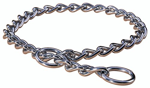 Hamilton Heavy Choke Chain Dog Collar, 20-Inch