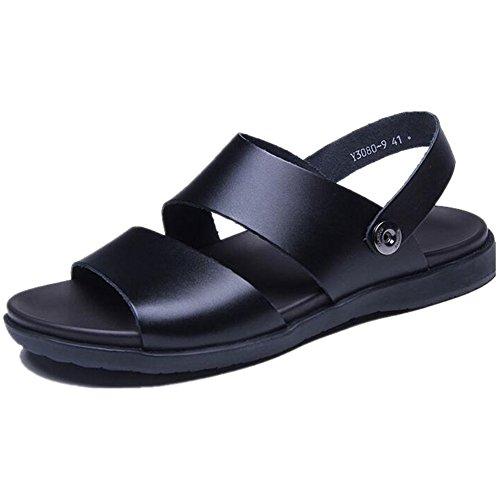 Nero Uomo Sandali Qingxian Qingxian Sandali x8IOUO