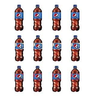 LUV BOX-Variety Pepsi Pack ,Pack of 12 , 20 oz Bottle , Original , Vanilla ,Wild Cherry