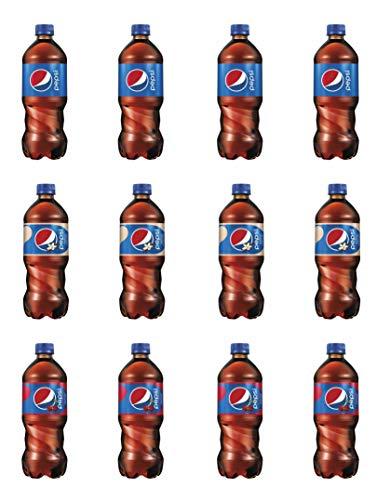 LUV BOX-Variety Pepsi Pack ,Pack of 12 , 20 oz Bottle , Original , Vanilla ,Wild Cherry