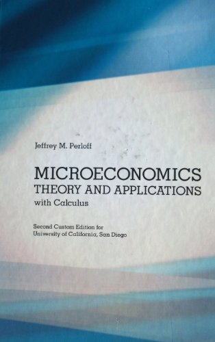 microeconomics with calculus 2nd edition pdf