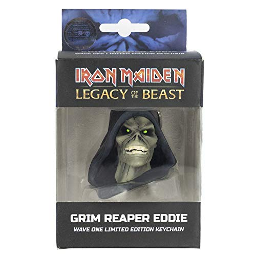 Iron Maiden: Legacy of the Beast Grim Reaper Head Key Chain ()