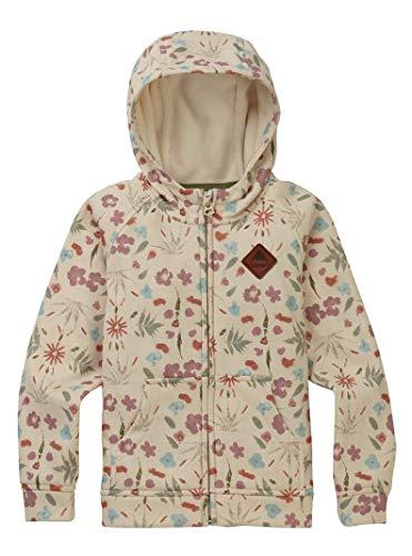 Burton Toddler Crown Bonded Full Zip Hoodie, Creme Fresh Pressed, 4T