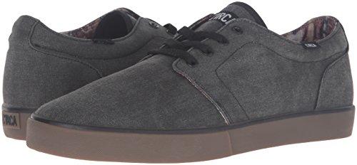 C1RCA Men's Drifter Skateboarding Shoe, Charcoal/Black, 13 M US