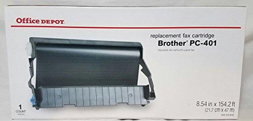 Pc401 Fax Cartridge (Office Depot(R) Brand 401B (Brother PC-401) Fax Film Cartridge)