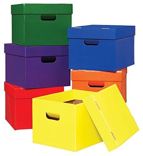 Classroom Keepers 001333Highsmith bolsa y almacenar caja, 25.4x 30.5x 38.1cm tamaño Color, 10.13' de altura, 12.25'...