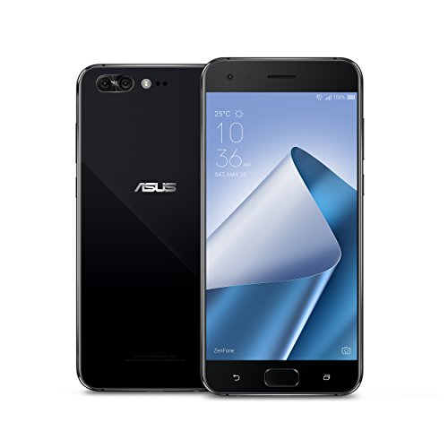 ASUS ZS551KL-S835-6G64G-B  ZenFone 4 Pro 5.5-inch FHD IPS AMOLED 6GB RAM, 64GB storage LTE Unlocked Dual SIM Cell Phone, US Warranty, Pure Black