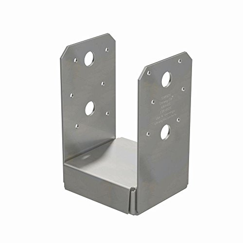 Simpson Strong Tie ABU44SS Stainless Steel Adjustable Post Base, 4