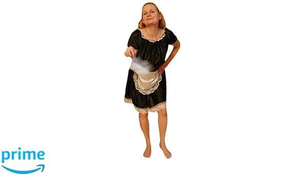 TO76 trajes de limpieza traje de criada de la criada del ...