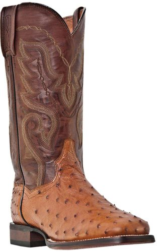 Dan Post Mens Chandler Western Boot Cognac Ceroso
