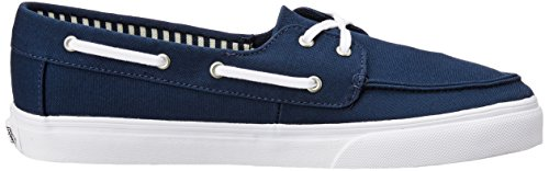 Vans Wm Chauffette Sf, Zapatillas para Mujer Azul (Stripes Navy)