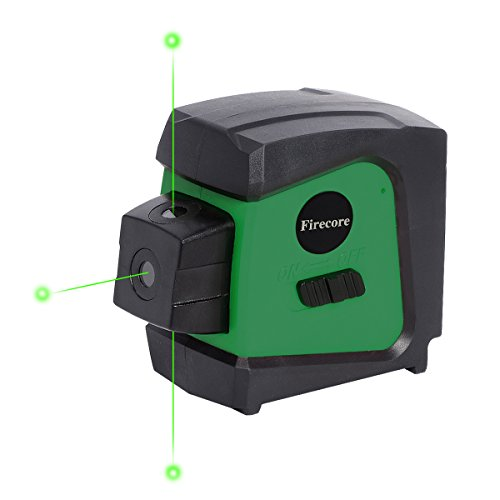 (Firecore F333G Green 3-beam Self Leveling Alignment Laser Pointer)