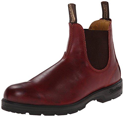 Premium Rosso Pelle Stivali 1440 Blundstone Chelsea Australia Classici RUw761Cxq