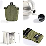 Pinty G.I. Army Stainless Steel Canteen Military