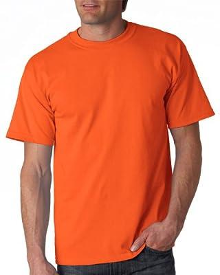 Gildan Adult Ultra Cotton T-Shirt, Orange, Medium. 2000