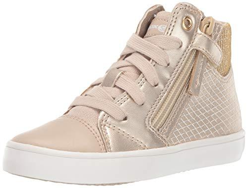 Geox Gisli Girl 10 High Top Sneaker with Zip, Girl's Gisli Girl 10 High Top Sneaker with Zip