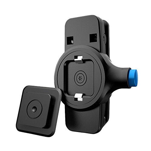 (Universal Waist Belt Clip,Waist Clip Holder & Cases for iPhone X/10 8 7 Plus 6S 5c 6 5S 5,5C 5 4 4S Se,Samsung Galaxy S8 S9 S7 S6 S5 S4 j7 j3 A7 A5, Note 8 7 6 5 4 3, Edge, Active,etc, Black)