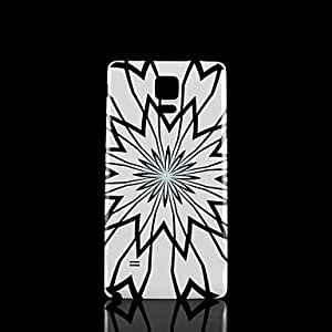 HP Flowers Pattern Hard Case for Samsung Galaxy Note 4
