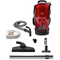 GV 8 Qt Quart Commercial Pro Cordless Battery Powered HEPA Backpack Back Pack Vacuum Loaded w 2 yr warranty Lithium Ion