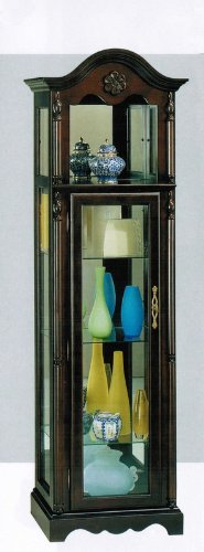 Curio China Cabinet in Cherry ()