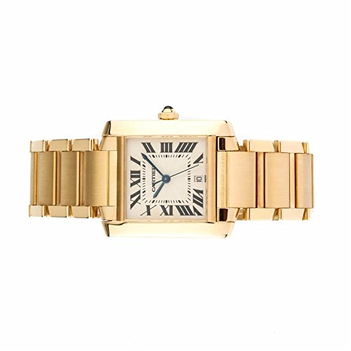 Cartier-Tank-Francaise-automatic-self-wind-mens-Watch-W5001R2-Certified-Pre-owned