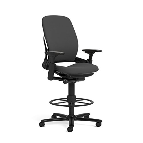 Steelcase Leap Fabric Stool, Black for sale  Delivered anywhere in USA