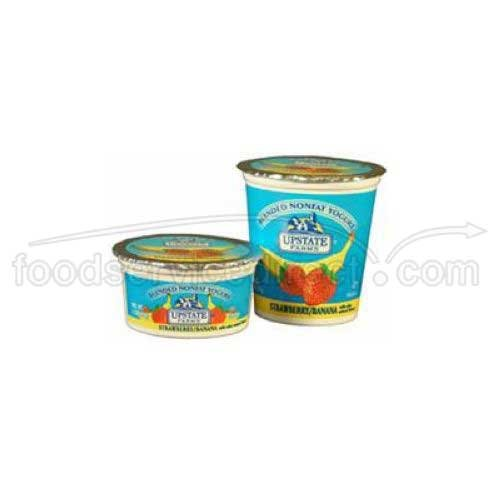 Upstate Niagara Coop Strawberry Banana Rich and Creamy Yogurt, 4 Ounce - 48 per case.