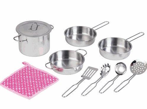 Wish I Was Home Metal Cookware 10 Piece Set